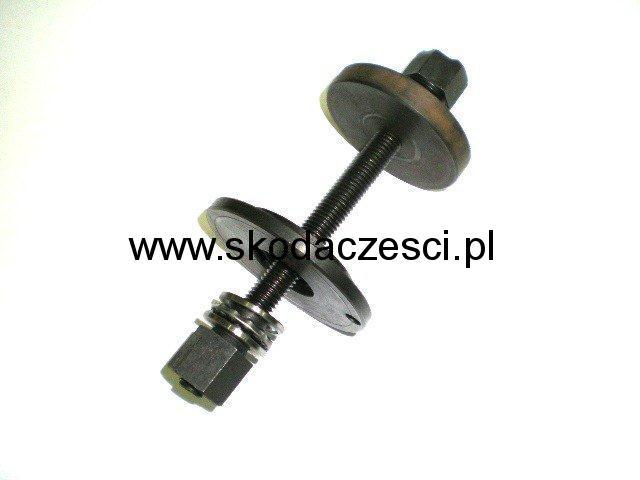 Ściągacz tulejek plastikowych przedniego wahacza Skoda Fabia Octavia II Polo Seat Ibiza Cordoba Altea