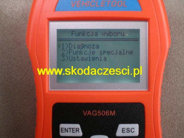 Czytnik kodów błędów, Skaner, Interfejs diagnostyczny V-scan VAG Mini